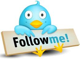 We invite you to follow us on twitter!